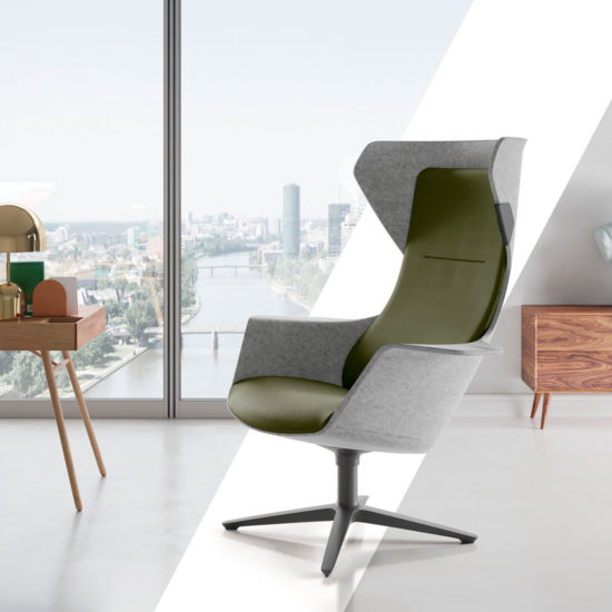 Introducing WOOOM! The new Klöber shell chair will be premiered at Orgatec