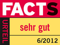 Facts Duera logo sehrgut 2012-06-14 web